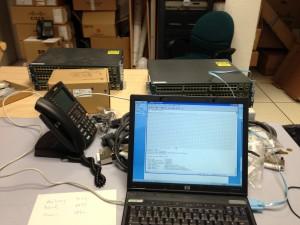 Préparation remise à zéro switch Cisco