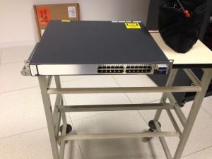 Préparation de l'ajout du 3eme switch Cisco 3750-E sur le stack