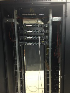 Switch 3560E (vue arrière)